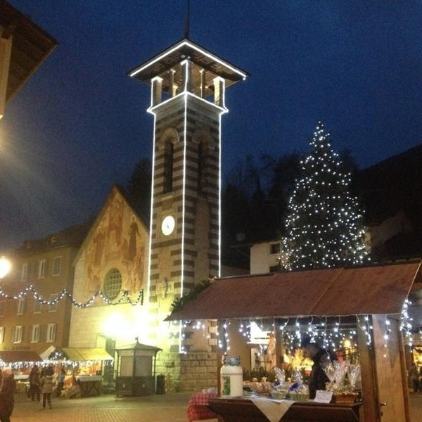 Christkindlmarkt in den Dolomiten