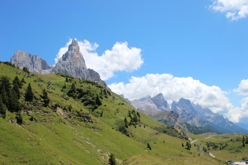 Sommerstimmung in den Dolomiten