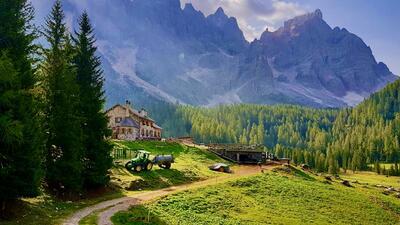 Berg-Ausflüge im Trentino (Italien)